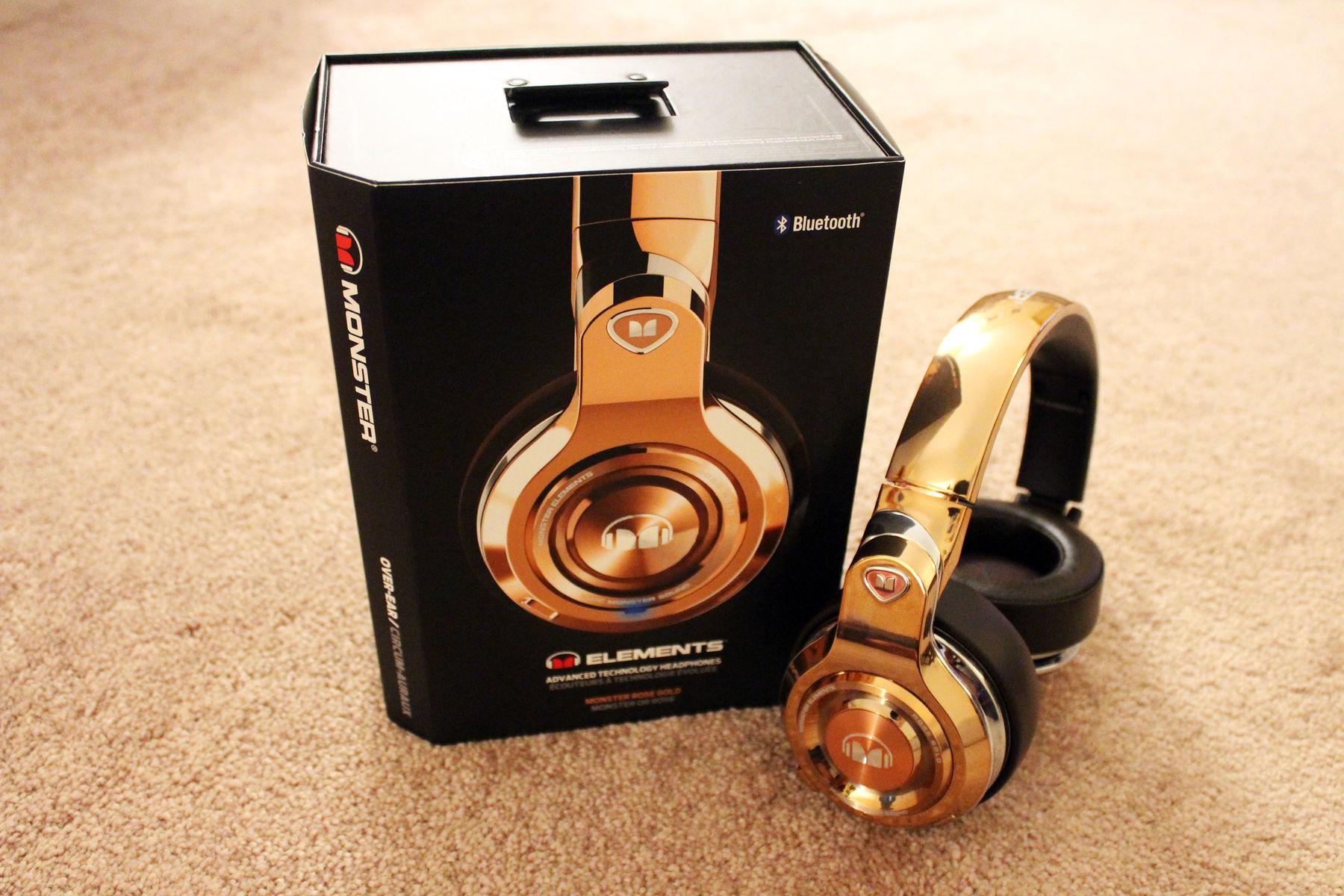 Monster Elements Headphones